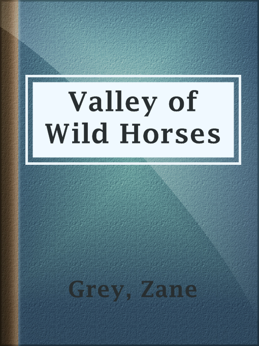 Title details for Valley of Wild Horses by Zane Grey - Available