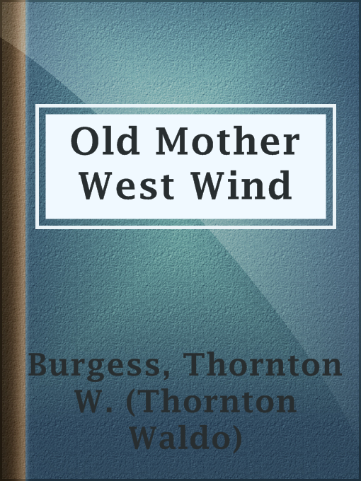 Cover of Old Mother West Wind
