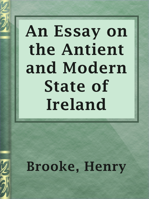 cover of an essay