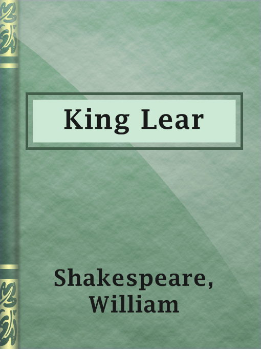 Title details for King Lear by William Shakespeare - Available