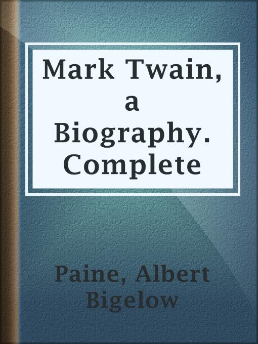 mark twain a biography essay