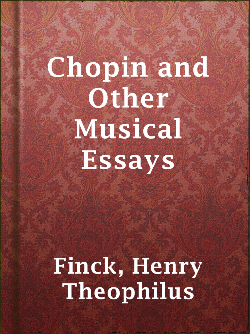 chopin other musical essays