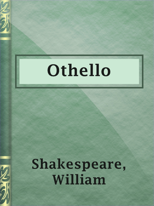 Title details for Othello by William Shakespeare - Available