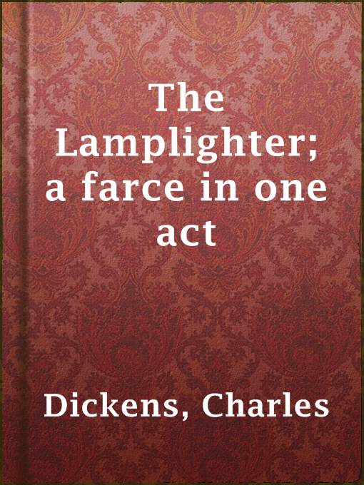 The lamplighter a farce in one act nebraska overdrive for Farce in english
