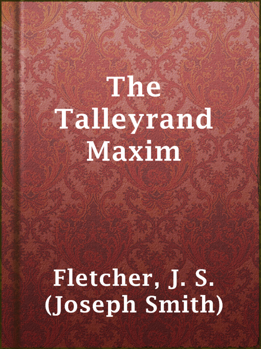 taleyrand essay Free essay: since his childhood, talleyrand suffered from certain physical distortion in the feet that contributed to an impaired physical mobility as a.