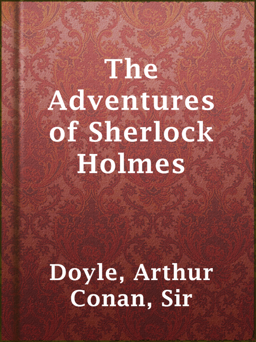 Cover of The Adventures of Sherlock Holmes