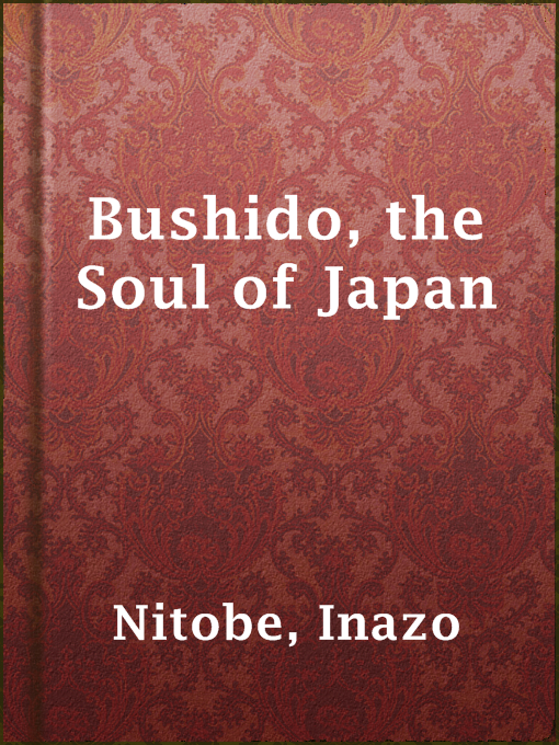 Cover of Bushido, the Soul of Japan