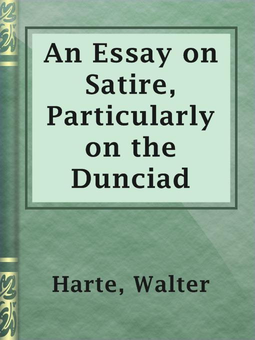 read satire essays