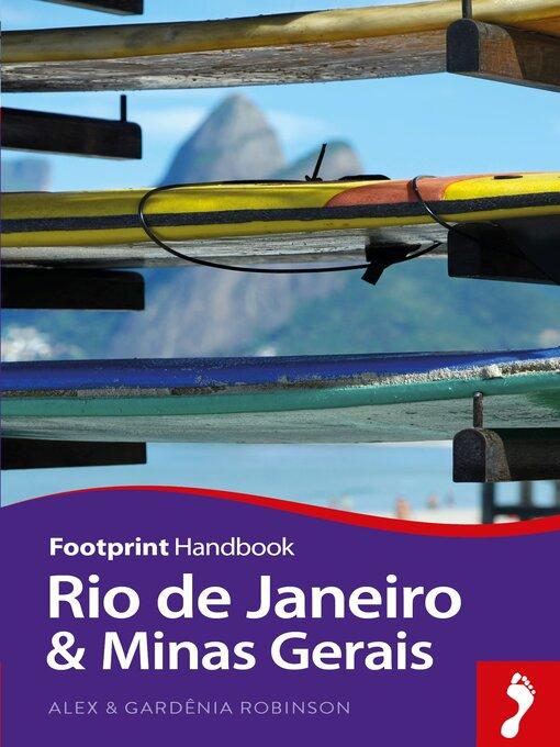 Title details for Rio de Janeiro & Minas Gerais by Alex Robinson - Available
