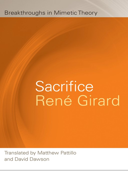 Title details for Sacrifice by René Girard - Available