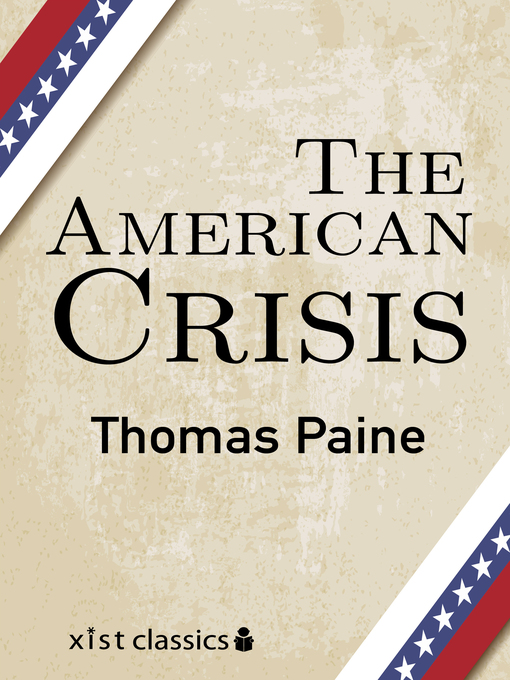 the ethical appeal in the american crisis Ethical preparedness for pandemic influenza for public appeal and care taken to avoid at regular intervals throughout the crisis xi ethical.