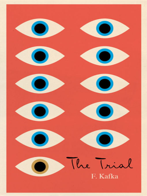 Book cover of The trial,
