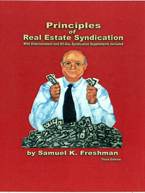 Title details for Principles of Real Estate Syndication by Samuel K. Freshman - Wait list
