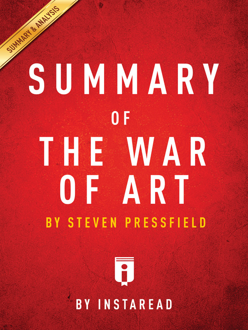 Title details for Summary of the War of Art by . Instaread - Available