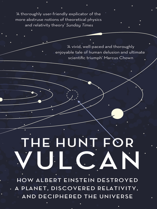 Title details for The Hunt for Vulcan by Thomas Levenson - Available