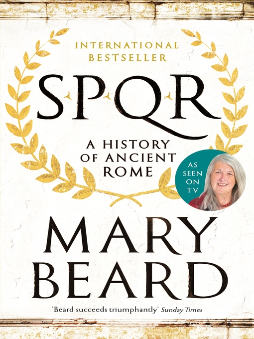 Title details for SPQR by Mary Beard - Wait list
