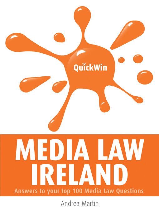 Title details for Quick Win Media Law Ireland by Andrea Martin - Available