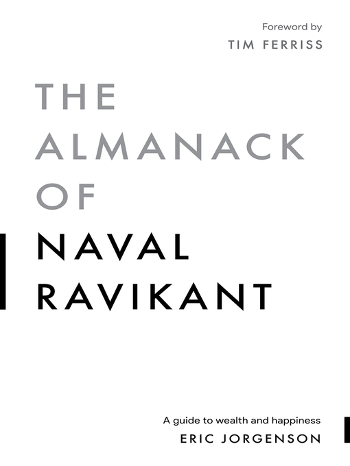 Cover image for The Almanack of Naval Ravikant