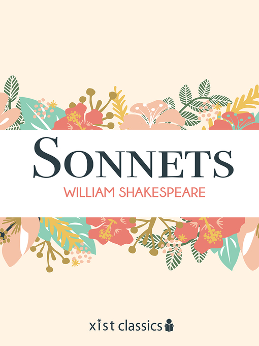 Title details for Sonnets by William Shakespeare - Wait list