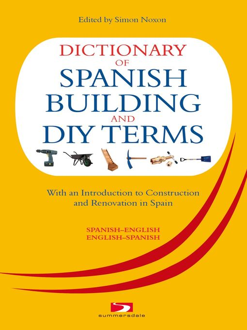 Cover of Dictionary of Spanish Building and DIY Terms