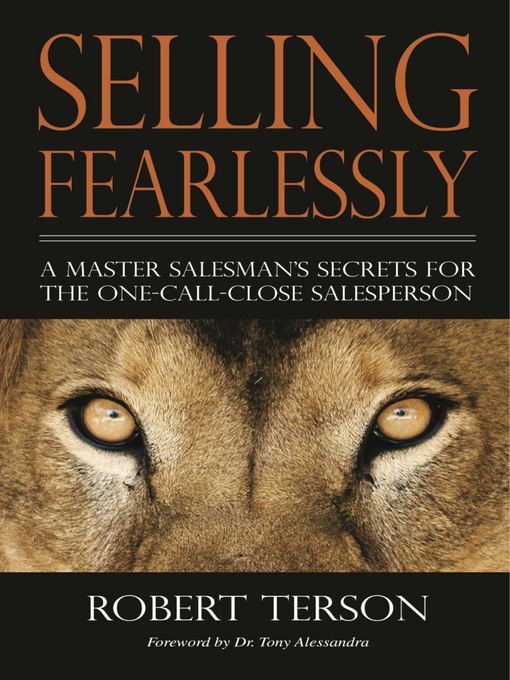 Title details for Selling Fearlessly by Robert Terson - Wait list