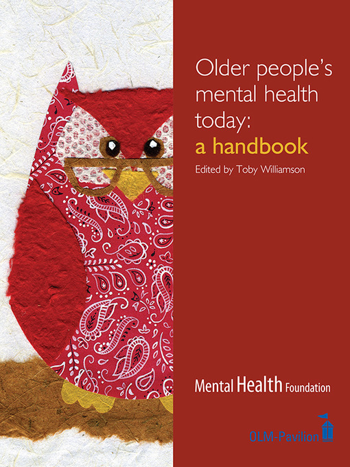 Title details for Older People's Mental Health Today by Toby Williamson - Available