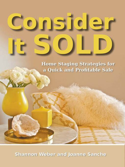 Title details for Consider It Sold by Shannon Weber - Available