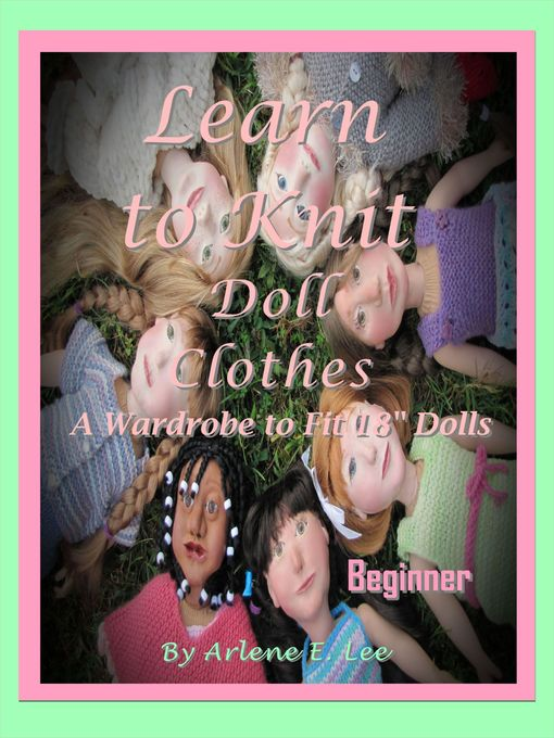 Cover of Learn to Knit Doll Clothes