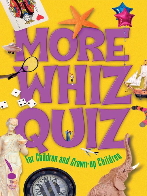 Title details for More Whiz Quiz by Cork West    Branch of the NPC - Available