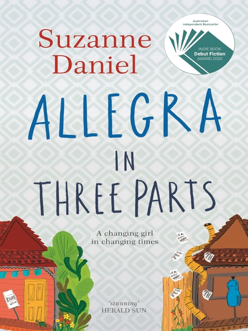 Title details for Allegra in Three Parts by Suzanne Daniel - Wait list