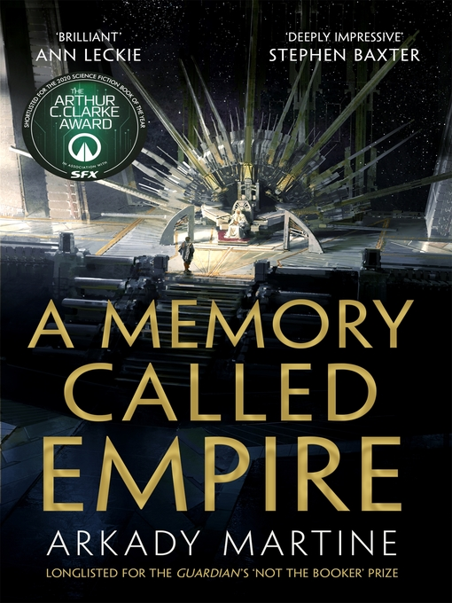 Title details for A Memory Called Empire by Arkady Martine - Wait list