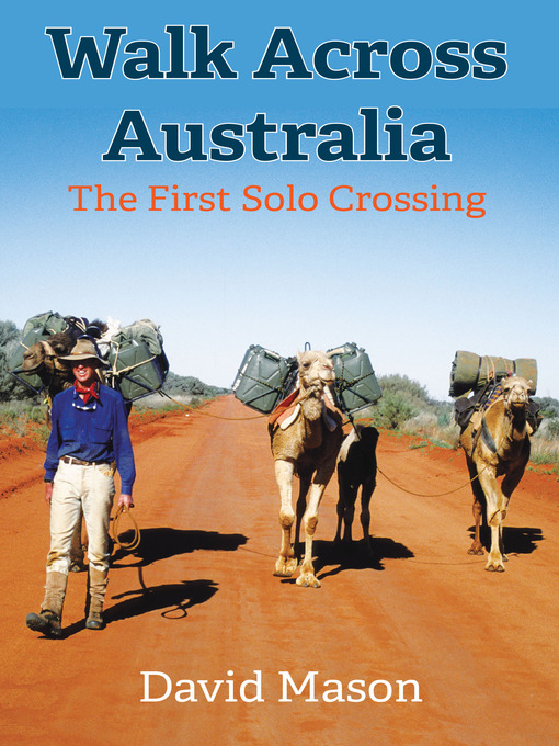 Cover of Walk across Australia