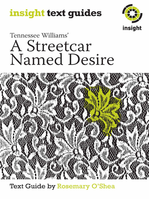 analysis of a streetcar named desire play by tennessee williams and the theme of depression He was tennessee williams city and set the locale for a streetcar named desire williams spent a number of years traveling stories and another play.