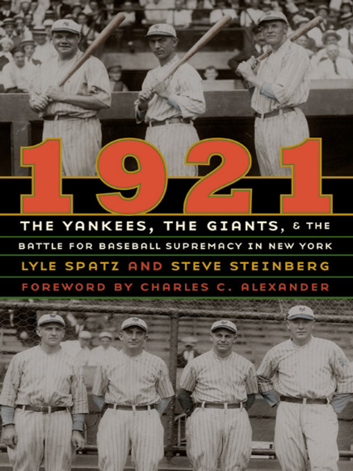 Title details for 1921 by Lyle Spatz - Available