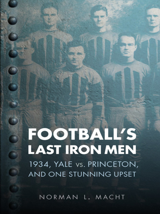 Cover of Football's Last Iron Men
