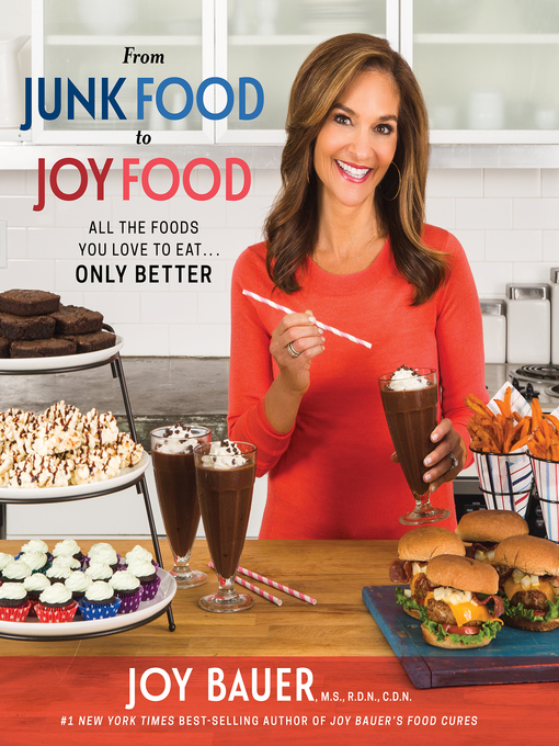 Title details for From Junk Food to Joy Food by Joy Bauer - Wait list
