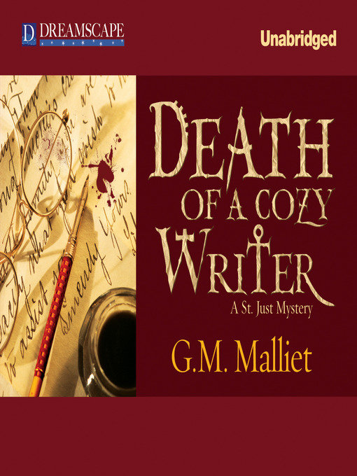 Title details for Death of a Cozy Writer by G. M. Malliet - Available