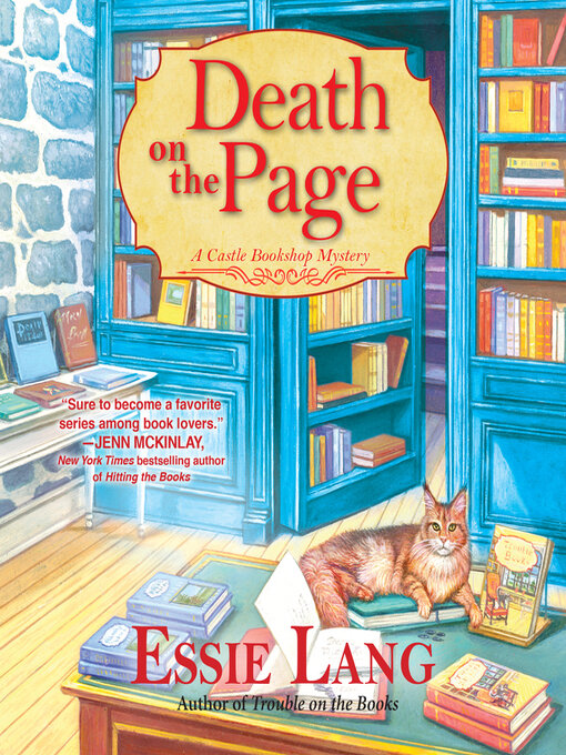 Title details for Death on the Page by Essie Lang - Wait list