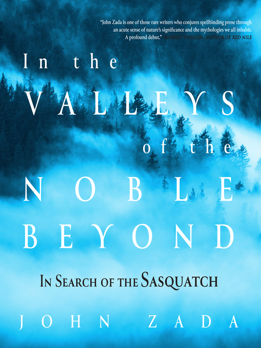 Title details for In the Valleys of the Noble Beyond by John Zada - Wait list