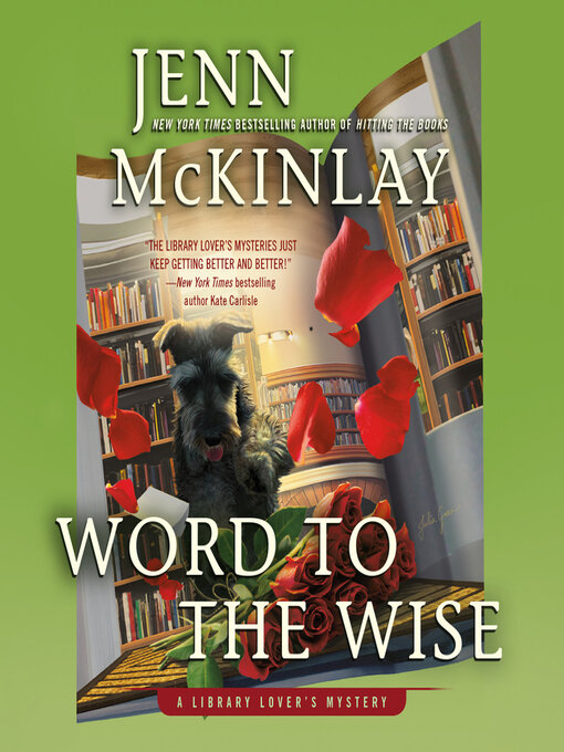 Title details for Word to the Wise by Jenn McKinlay - Available