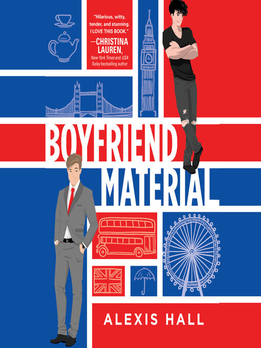 Title details for Boyfriend Material by Alexis Hall - Wait list