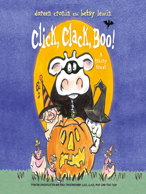Cover of Click, Clack, Boo!