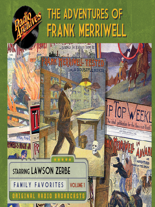 Cover of The Adventures of Frank Merriwell, Volume 1