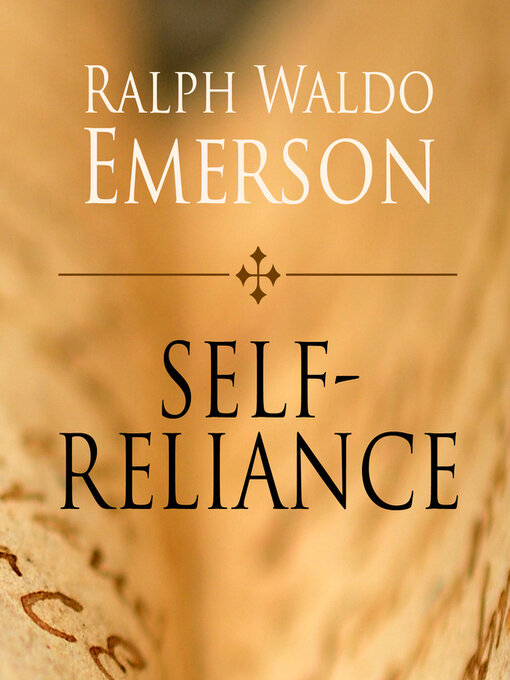 the relevance of ralph waldo emersons essay self reliance in society today Essays on ralph waldo emerson self reliance ralph waldo emersons essay: self reliance self relevance of individualism in life today introduction.