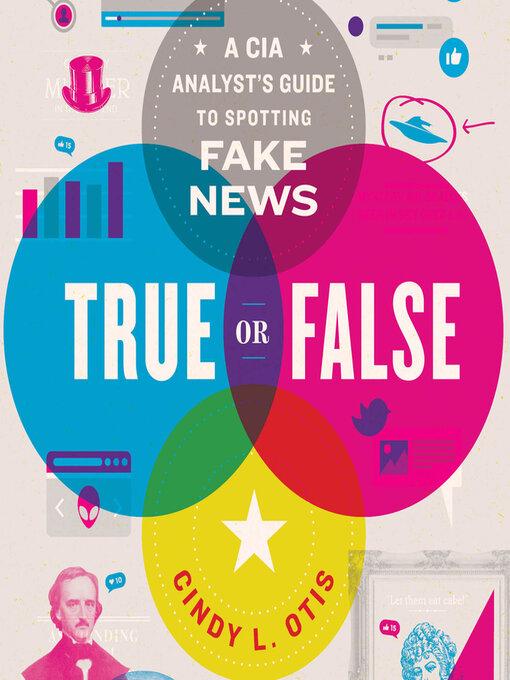 Title details for True or False by Cindy L. Otis - Wait list