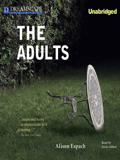 Title details for The Adults by Alison Espach - Available
