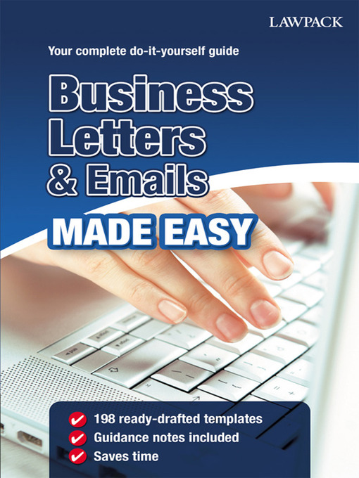 Title details for Business Letters & Emails Made Easy by David Crosby - Available