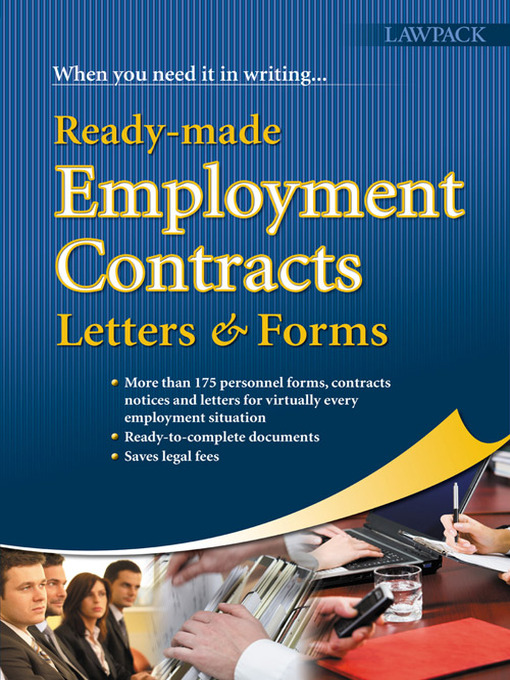 Title details for Ready-Made Employment Contracts, Letters & Forms by Melanie Slocombe - Available