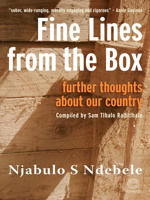 Title details for Fine Lines from the Box by Njabulo Ndebele - Available