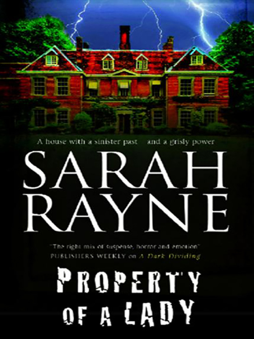Title details for Property of a Lady by Sarah Rayne - Available